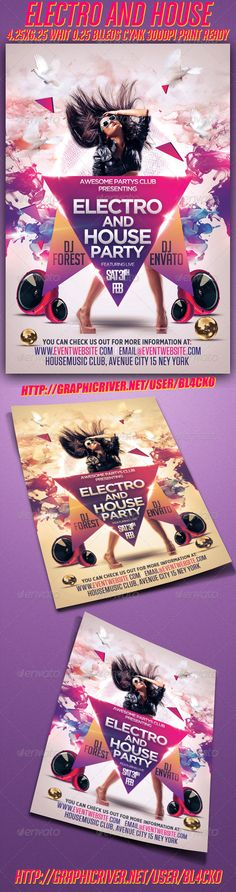 Electro And House Party - Clubs & Parties Events