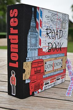 Road Book Londres - Scrap-Ange