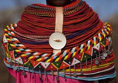 Rendille beads and necklaces - Kenya | Flickr: Intercambio de fotos