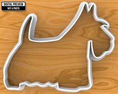 Scottish Terrier Custom Dog Treat Cookie Cutter, Blank or Personalized, Selectable sizes, Sharp Edge Upgrade Available Dog Cookie Cutters, Dog Cookies, Dogs Golden Retriever, Scottish Terrier, Terrier Dogs, All Dogs, Dog Treats, Safe Food, 3d Printing