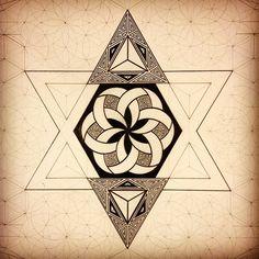 Steady progression #art #sacredgeometry