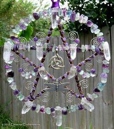 Pagan crystal suncatcher                                                                                                                                                      More