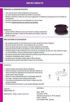 Fiche Tupperware : Micro minute - Les Macarons à la Chartreuse