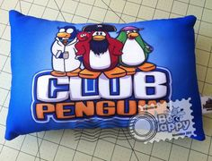 Club Penguin Pillow? Cool!
