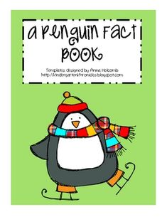There is so much fun stuff to learn about penguins, and what better way to do that than with a fact book! here's the best part, I've created the te...