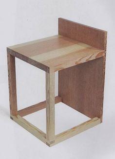 """""""Block"""" stool"""
