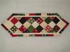 Christmas quilted table runner/candle mat by QuiltedTreasuresFL