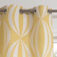Ösenvorhang HYPNOSIS, 140 X 300 Cm, ... Vorhang Gelb, Gelbe Vorhänge