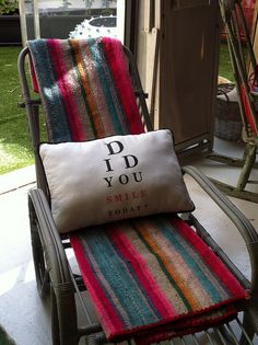 How great is this little pillow. at BConnected Shop in Palma de Mallorca.