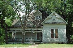 Waxahachie, Texas. I love this little town. Beautiful old houses!