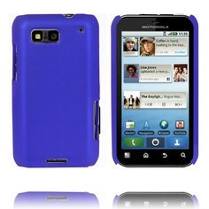 Hard Shell (Blå) Motorola Defy Deksel