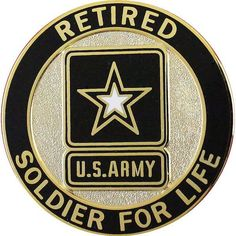 Army Soldier for Life Retired Identification Badge Military Honors, Military Guns, Military Life, Military Quotes, Military Service, Military Retirement, Retirement Quotes, Marine Corps Humor, Us Army Rangers