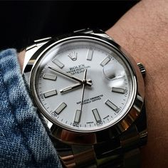 Rolex Datejust II cadran blanc 41mm