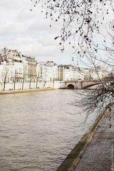 | ♕ | Along the Seine - Paris spring | by © Carin Olsson | via ysvoice