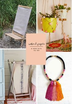 Poppytalk: Weekend Projects   8 New DIY Projects to Try