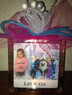 """Personalized lighted Frozen block """"Sold"""""""