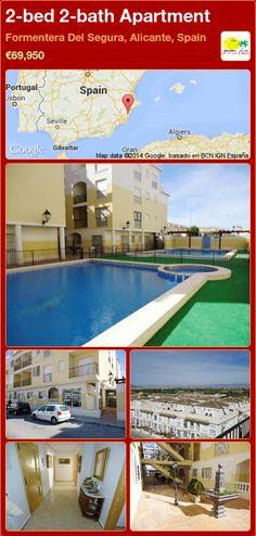 2-bed 2-bath Apartment for Sale in Formentera Del Segura, Alicante, Spain ►€69,950