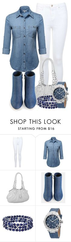 """""""Denim Boots"""" by tlb0318 on Polyvore featuring Miss Selfridge and Chaps"""