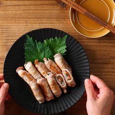 【タレ不要】「豚肉の梅シソ巻き」なら、スピーディーに晩酌開始★