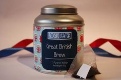 Great British Brew Pyramid Teabags - perfect for St Georges Day