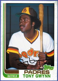 1982 Topps Tony Gwynn, San Diego Padres, Baseball Cards That Never Were