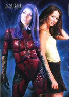 Amy Acker as Illyria and Fred     (Illyria Tutorial)
