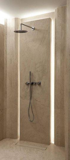 Badezimmer-Designs - Degma Tasarım - Meet Me in the Bathroom Badezimmer Badezimmer dusche Badezimmer fliesen Bathroom Spa, Bathroom Toilets, Bathroom Interior, Modern Bathroom, Small Bathroom, Bathroom Lighting, Shower Lighting, Washroom, Master Bathroom