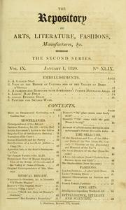 Ackerman's Repository, 1809