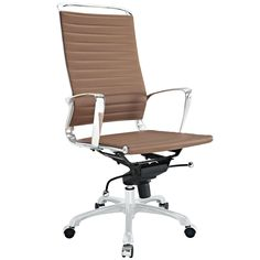Highback Office Chair in Tan