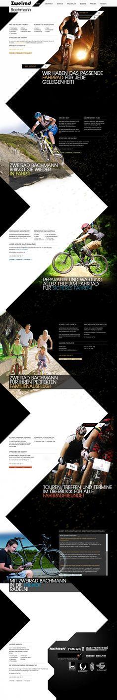 Zweirad Bachmann (http://www.zweiradbachmann.de/) hat immer das passende Fahrrad für jede Gelegenheit. Das perfekte Webdesign dazu kommt von Euroweb.