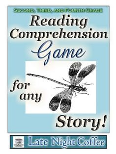 Reading Comprehension Game for any Story! 2nd-4th grade #readingcomprehensiongame