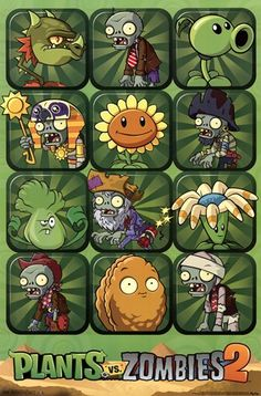 - Plants vs. Zombies 2 - art prints and posters