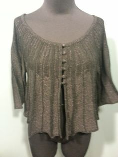 one A Black NWT Sparkle Ribbed Knit Holiday Evening Dress Shrug Sweater L $27 Free Shipping!