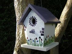 Mosaic Bird House £38.50