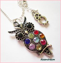 I love this cute owl necklace!