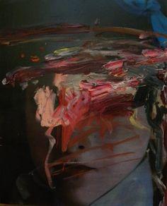 """Francesco Lauretta """"Stele"""", 2014 Olio su tela"""