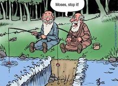 Moses, don't you make me take your staff away!