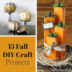 15 Fall DIY Craft Projects
