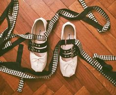 Easy to recreate: Miu Miu ballerina punk flats
