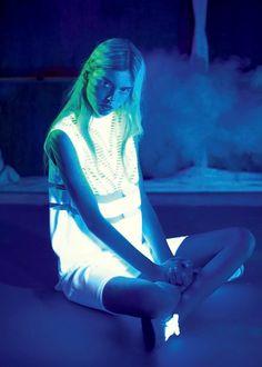 "bambuh:  ehmerald:  festihve:  glowist:  midnight-charm:  ""Disco Tech"" Wylie Hays by David Schulze for Surface #99  want skjadnfjksd  Q'd x  ☾☾☾  wow"