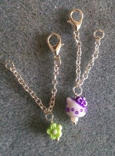 Doll Hello Kitty and flower necklaces from F'Moush