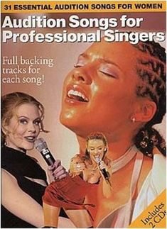 Audition Songs for Professional Singers, Book & 2 CDs Predominantly Female Vocal Grace Music, Audition Songs, Kawai Digital Piano, Indie Dance, Internet Music, Mezzo Soprano, Sheet Music Book, Backing Tracks, Online Music Stores