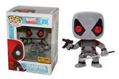 Deadpool X-Force Sword and Gun (Marvel) Exclusive Funko Pop! Bobble-Head Vinyl Figure