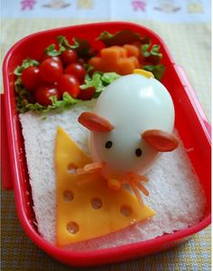 cute mouse lunch box
