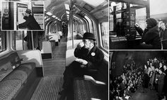 Rare photographs show the fascinating early days of the Tube #DailyMail