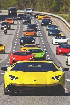 Lamborghini group - Classic Driving Moccasins www.ventososhoes.com FREE SHIPPING & RETURNS #supercars