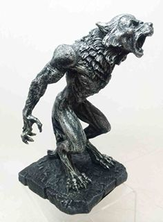 Garden Makeover  HOWLING WEREWOLF WOLF MAN LYCAN FIGURINE STATUE BATTLE MODE TAUNTING PREY ** This is an Amazon Associate's Pin. Locate the item on the website simply by clicking the image.