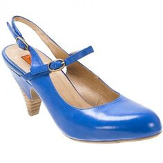 "Miz Mooz ""Fortuna"" in Cobalt. LOVE!"