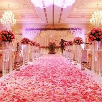 Shop For Cheap Rose Petals Top Quality 100pcs Silk Leaves Wedding Decorations Party Festival Table Confetti Decor Flower Petal 6z-sh012-1 Artificial & Dried Flowers