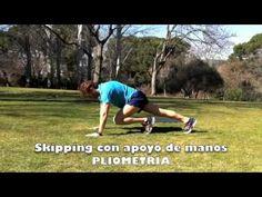 4.6.17 - PLIOMETRIA skipping con apoyo de manos en el suelo